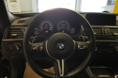 BMW M3 2015 palubní deska