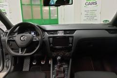 Škoda Octavia 2.0 TDi 135 kW RS interiér
