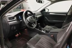 Škoda Superb 2.0 TDI 140 kW DSG 4x4 Style 2016 interier