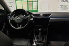 Škoda Superb 2.0 TDI 140 kW DSG 4x4 Style interiér