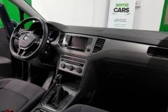 Volkswagen Golf Sportsvan 1.6 TDI Comfortline 2015 palubní deska