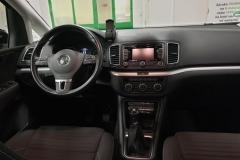 Volkswagen Sharan 2.0 TDI 103 kW CUP 4x4 7míst interiér