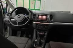 Volkswagen Sharan 2.0 TDI 110 kW Comfortline palubní deska