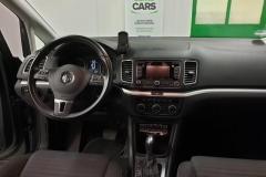 Volkswagen Sharan 2.0 TDI 130 kW DSG CUP 2014 palubní deska