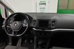 Volkswagen Sharan 2.0 TDI 135 kW Comfort 2016 palubní deska