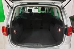 Volkswagen Sharan 2.0 TDI CUP 103 kW 2014 stříbrný kufr