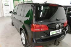 Volkswagen Touran 2.0 TDI 103 kW CUP 2014 černý zadek