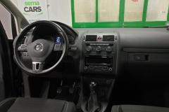 Volkswagen Touran 2.0 TDI 103 kW CUP 2015  palubní deska